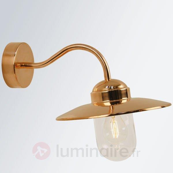 Applique extérieure LUXEMBOURG cuivre - Appliques d'extérieur cuivre/laiton