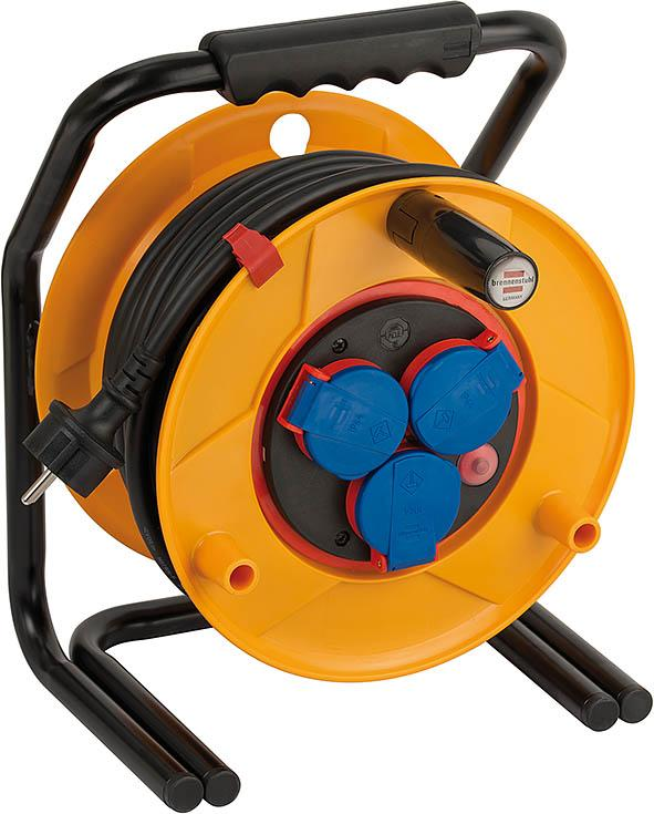 Brobusta® Bretec IP44 cable reel for site - null