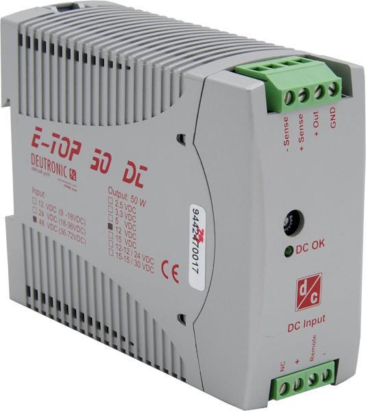E-TOP50DC 50 Watt - TS35
