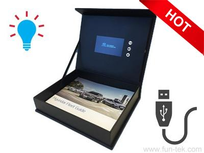 4.3'' LCD Video Display Box VMB-043 for Promotional Gifts - A Video Sales Box is a good way to make video advertisement for your products.