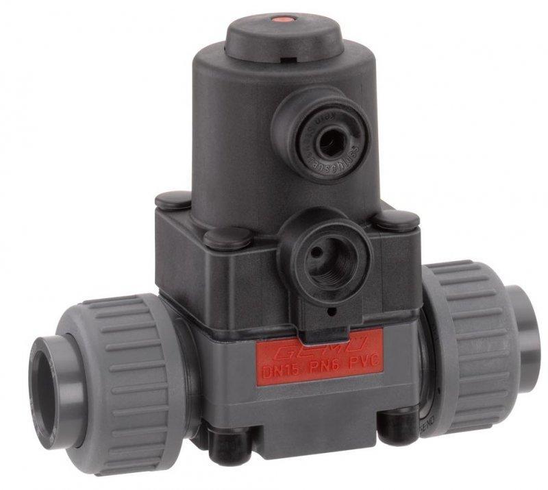 GEMÜ 610 - Vanne à membrane à commande pneumatique