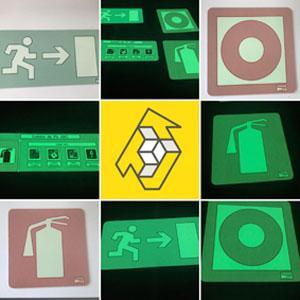 Sinalização Fotoluminescente e de Segurança -