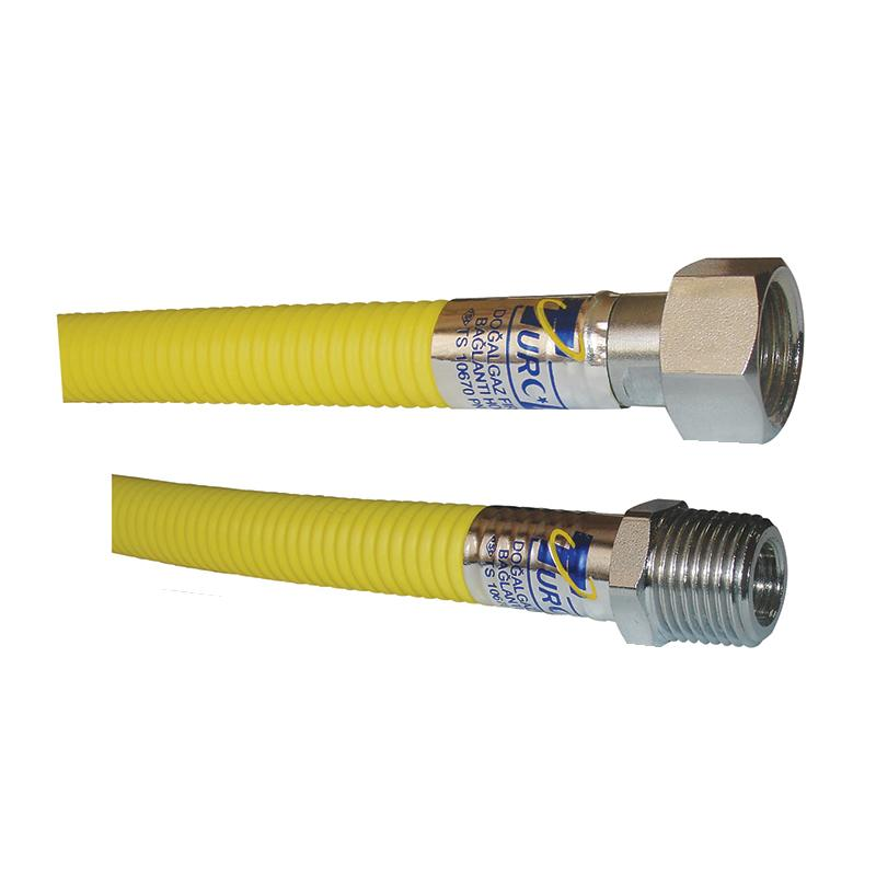 Natural Gas Hoses  - Metal Hose For Natural Gas For 1/2'' and 3/4'' MF & FF