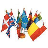 Drapeaux Des Pays Union Européenne- Bouquet De Table - Cérémonies Officielles