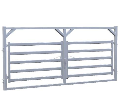 Horse/cattle/Goat metal fencing/corral panel/temporary fence - horse/cattle/sheep fence panel/gate