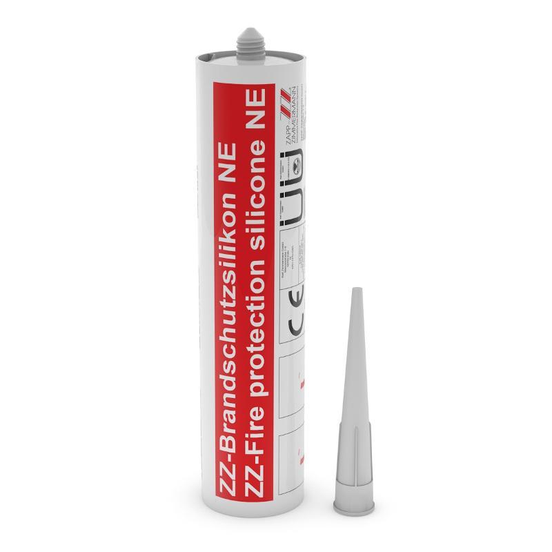 Fugendichtungen Systemkomponenten - ZZ-Brandschutzsilikon NE, 310 ml