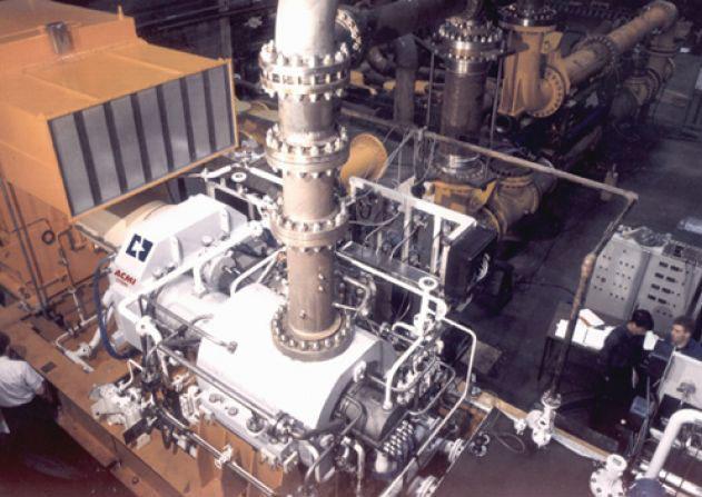 Turbo-multiplicateurs - Multiplicateur moteur électrique/ compresseur centrifuge 5800 kW à 9200 rpm