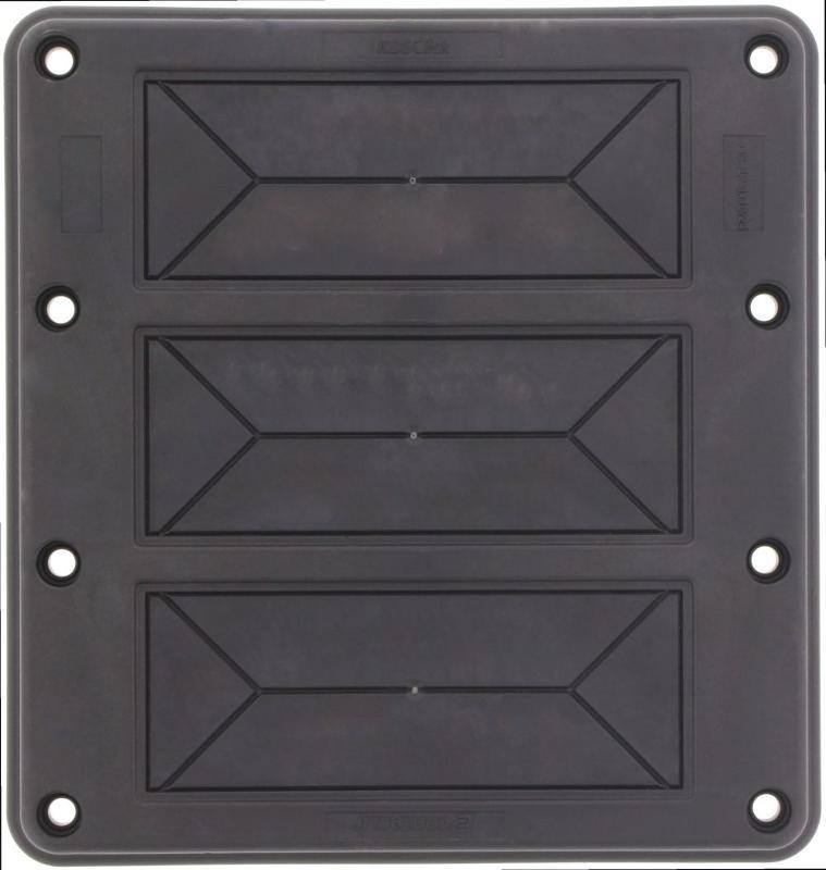 KDS-FP 3x10/24 BK | Flanschplatte - null