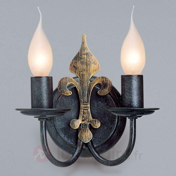 Applique CASTELLO à 2 lampes - Appliques rustiques