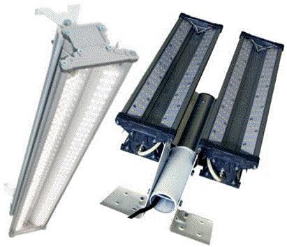 Промышленный светодиодный светильник Ударник L 48-400