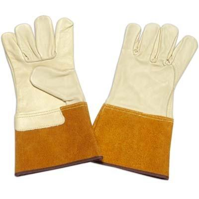 Industrial Leather Gloves  -