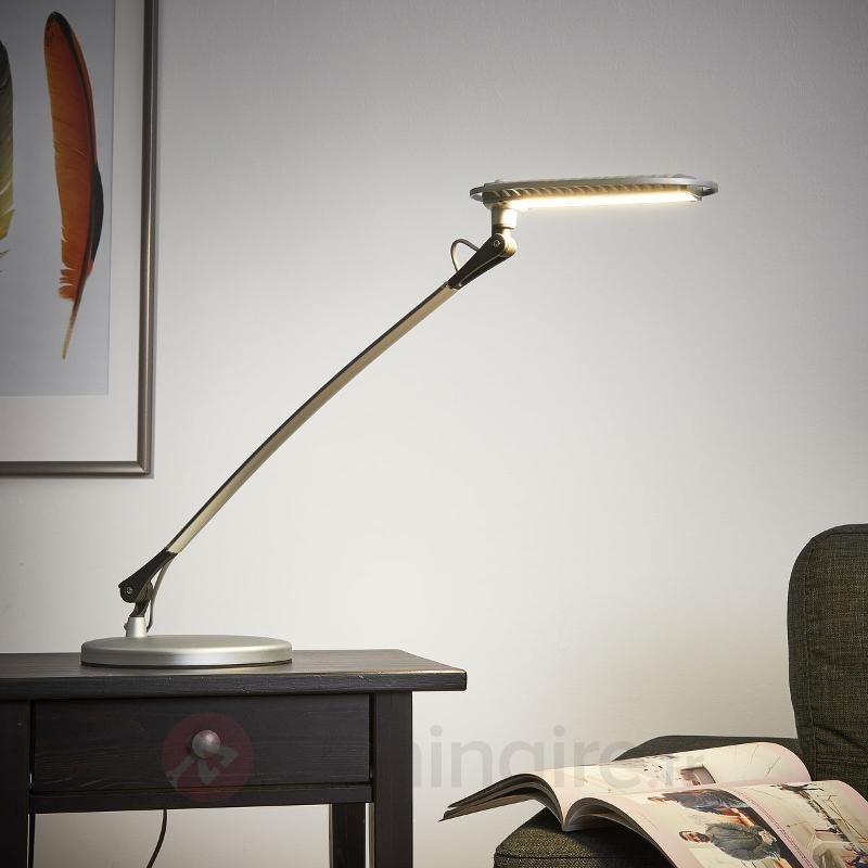 Lampe à poser LED Calandre 12 W - Lampes de bureau LED