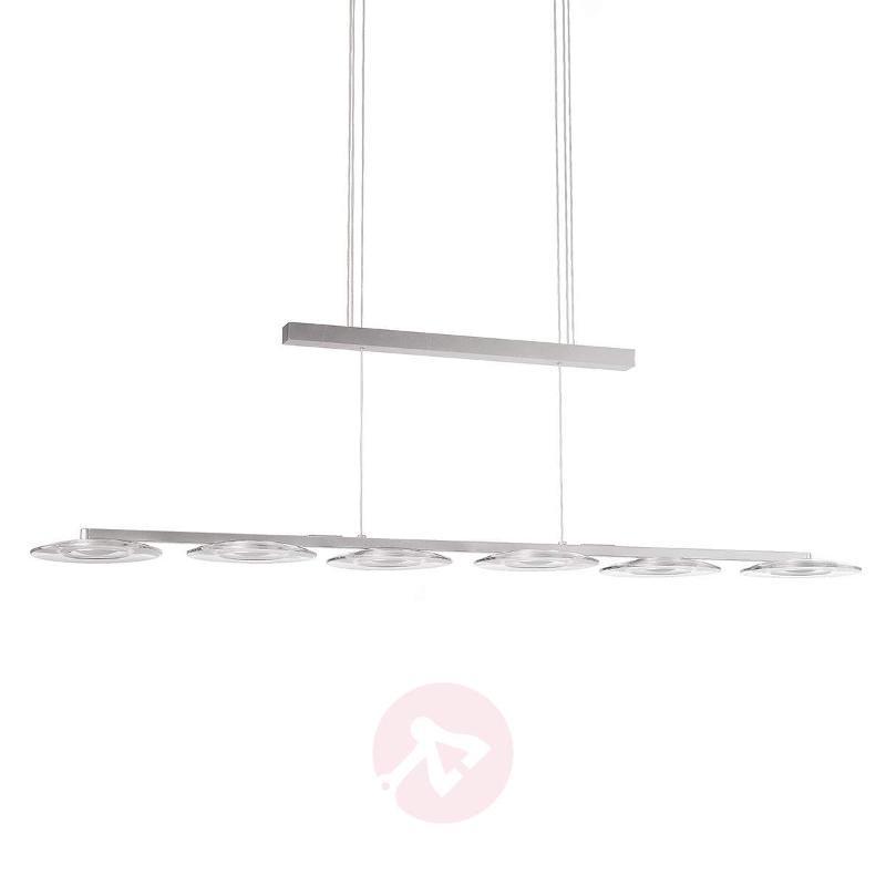 Vaga LED Hanging Light Height-Adjustable Six Bulbs - Pendant Lighting