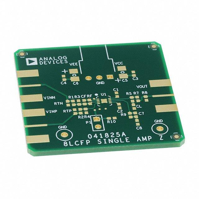 BOARD EVAL FOR ADA4817-1ACP - Analog Devices Inc. EVAL-HSOPAMP-1CPZ
