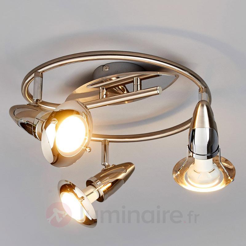 Plafonnier rond moderne Sharleen, LED R50 - Spots et projecteurs LED