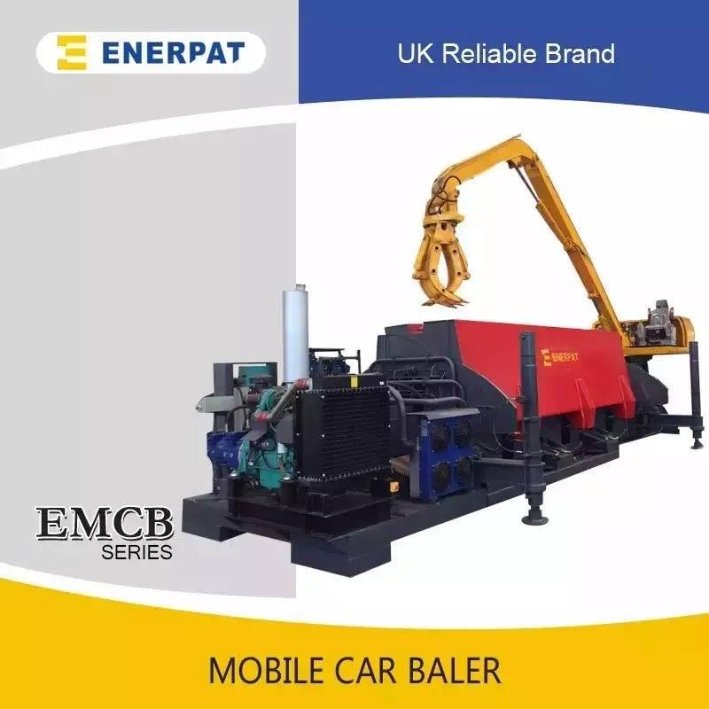 Car baler/scrap car baler /crusher machine for sale