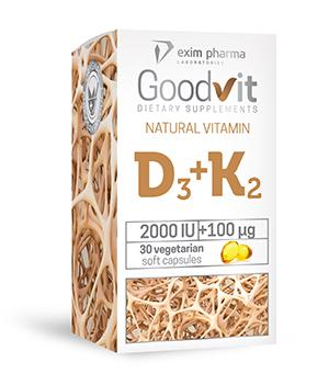 Goodvit Natural Vitamin D3+K2 - null
