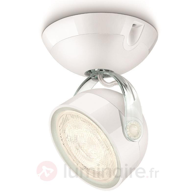 Spot LED blanc Dyna à 1 lampe - Spots et projecteurs LED