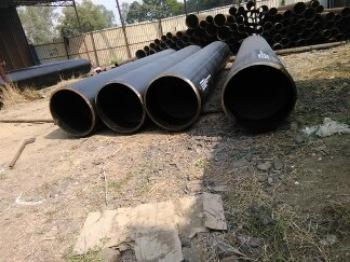 X80 PIPE IN ITALY - Steel Pipe