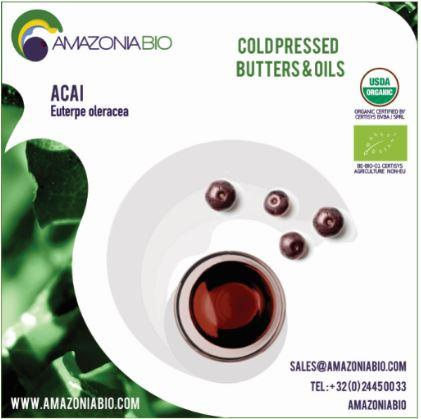 Organic Açaí Pulp Oil -  Try before purchase? Please contact us for free samples.
