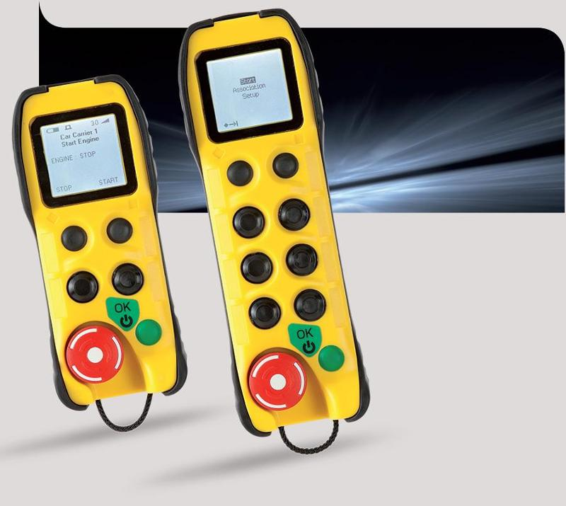 Bidirectional radio remote control