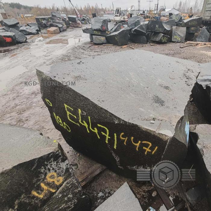 Гранитные блоки черный гранит габбро диабаз - Добыча и продажа гранита