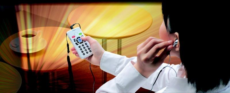Plextalk - PLEXTALK are audible book players and recorders using DAISY standard.