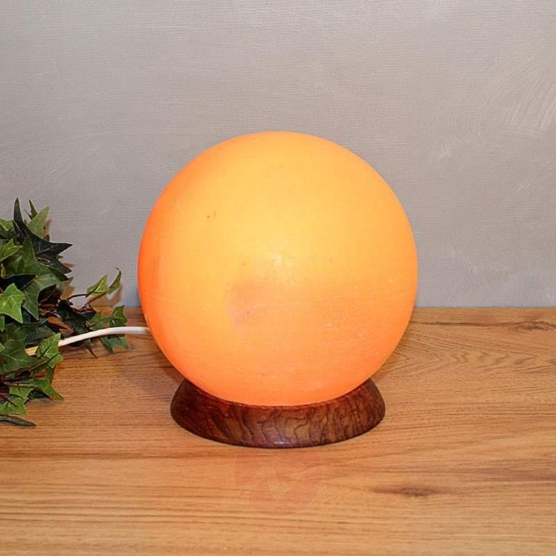 PLANETO round salt lamp - null