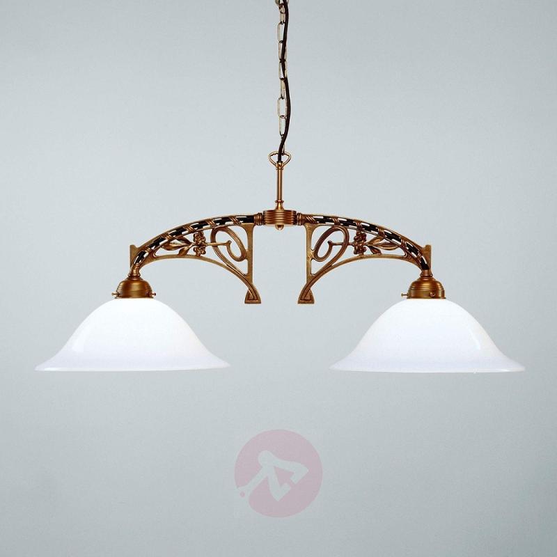 Eduard pendant light made of brass - design-hotel-lighting