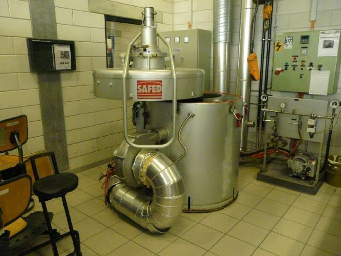 Four de recuit SAFED/BOREL VER40/50 - 650°C
