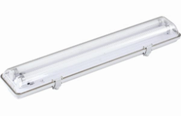 ARMATURE HERMETIQUE 60 CM IP65 + 2 X T8 LED - Intérieur standard