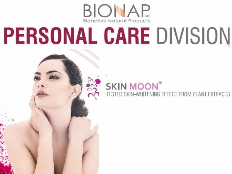 Skin moon - Natural cosmetic ingredients - Tested skin-whitening effect from plant extracts