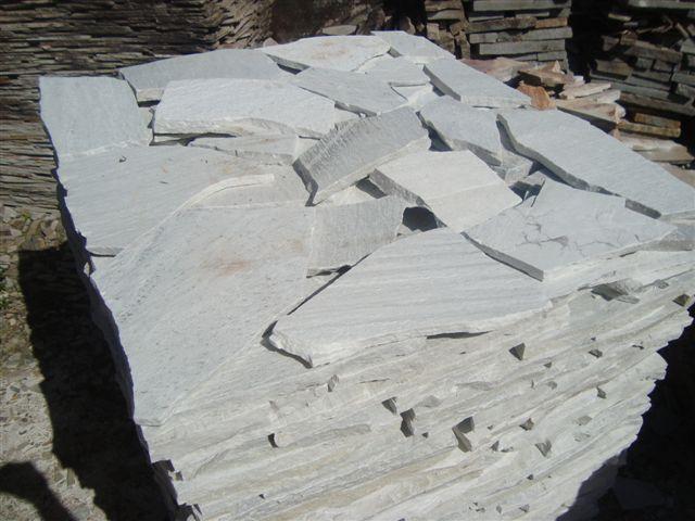Retalho quartzito branco - Dimensões sob pedido