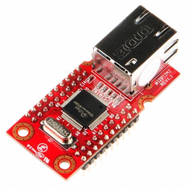 IC MODULE W5100 + MAG JACK - WIZnet WIZ812MJ