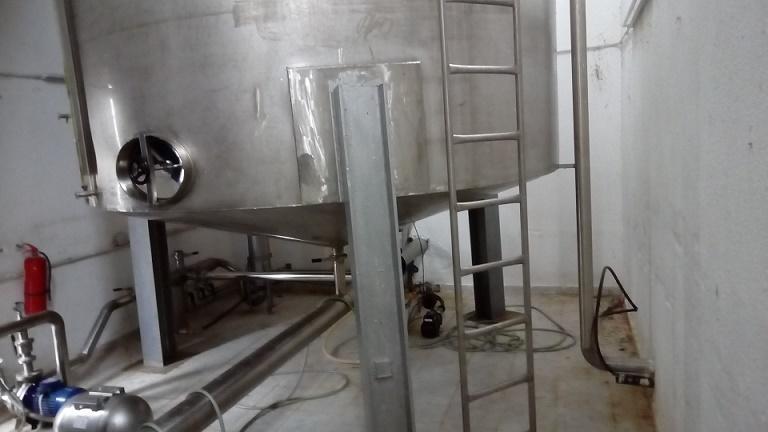 Réservoirs en acier inoxydable - 32 tonnes