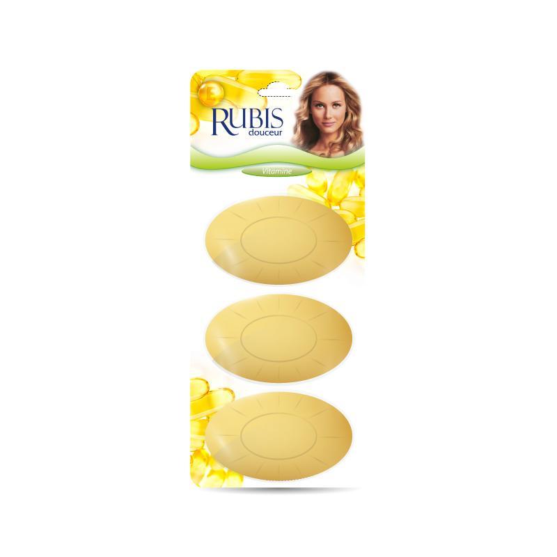 Rubis – 3 X 100 Gr Blister Soap - Blister Soap