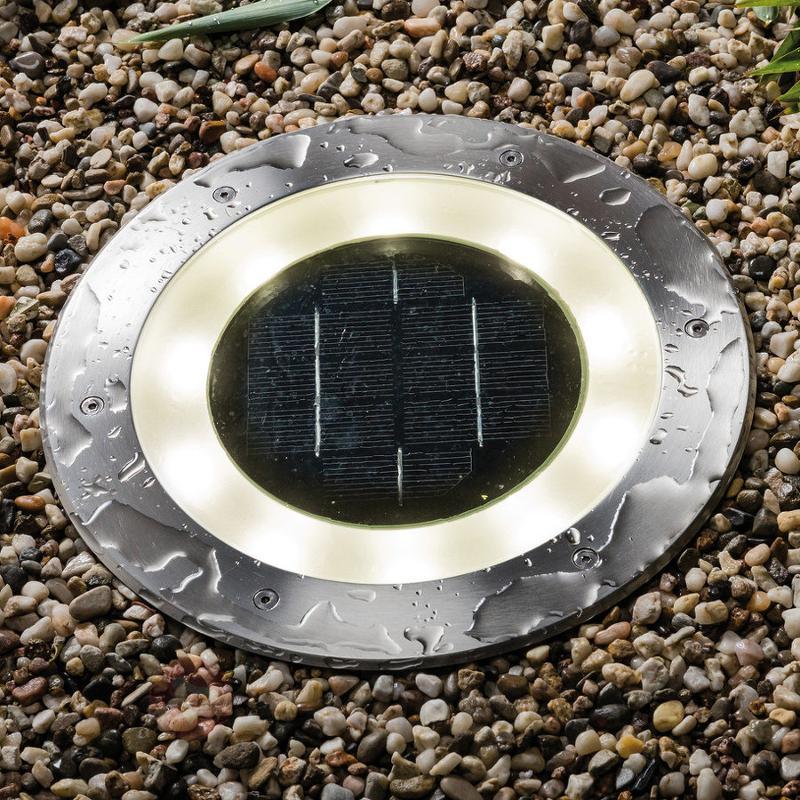 Lampe LED de sol Special Line Solar Jupiter - Tous les spots encastrés au sol