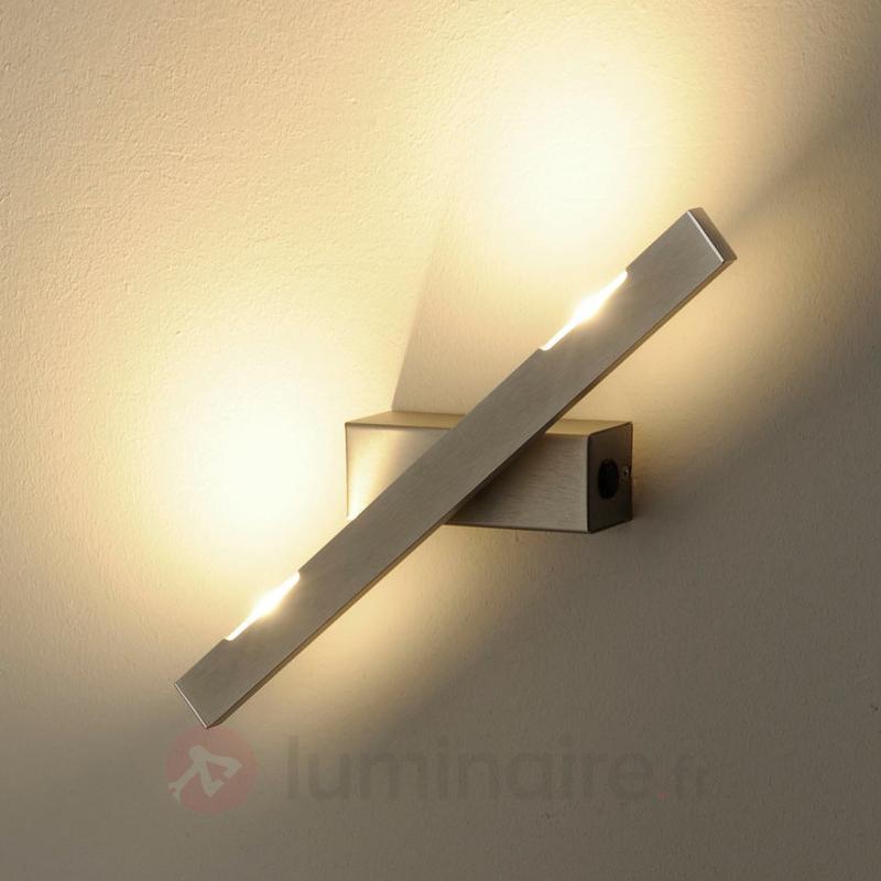 Applique LED Sina nickel mat 40 cm - Appliques LED