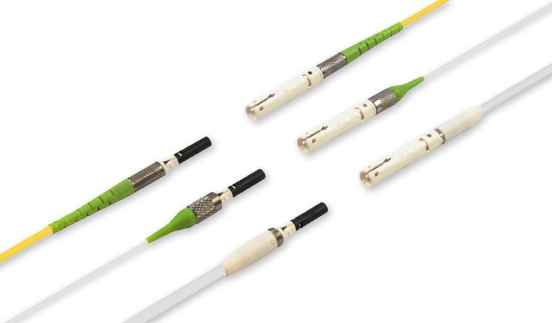 DiaLink Fiber optic connector - Quick push-pull fiber optic connector