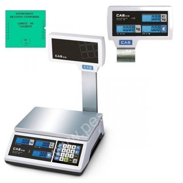 Balance commerciale CAS 15Kgs - Balances Commerciales