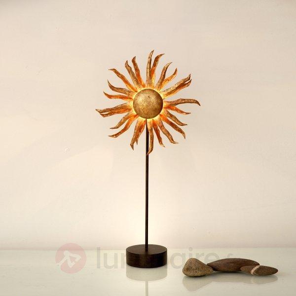 La lampe à poser SONNE doré av variateur d'intens. - Lampes à poser designs