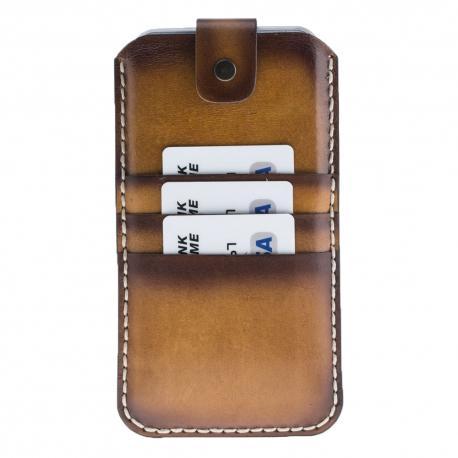 Vintage Leather Phone Pouch Case 8-7 Plus -