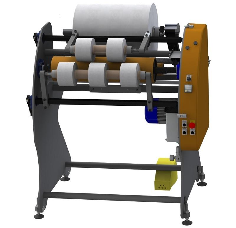 SAR 600/1000 - Slitter-rewinder for stretch film, paper and other roll materials
