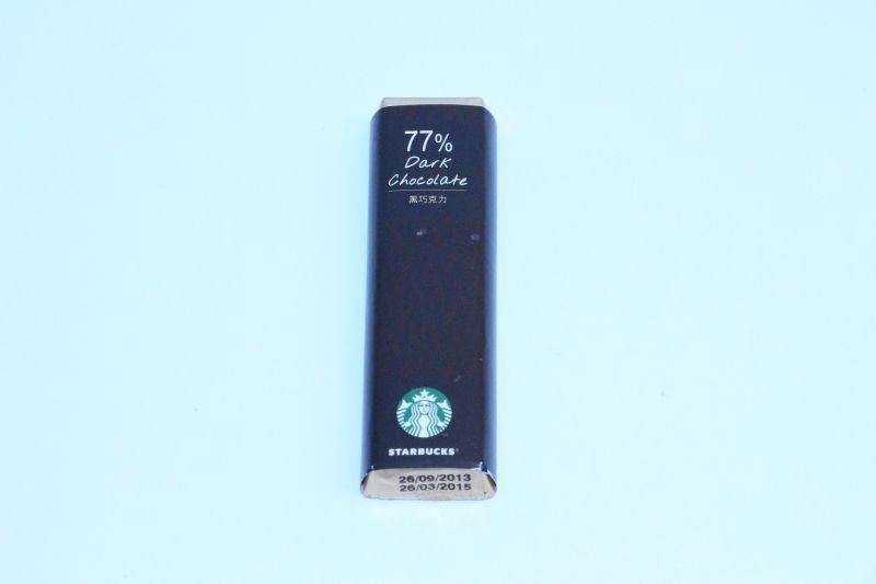 STARBUCKS 77% Dark chocolate -