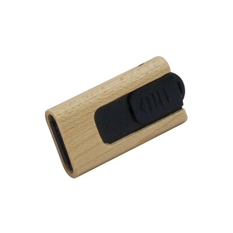 Clé USB Bois Rétractable - Clé USB Bois & Biodégradable