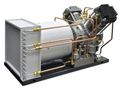 TUG oil-free and gas-tight compressor
