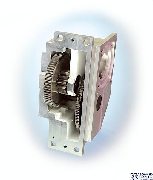 Spur Gear Unit - favourable size/performance relationship, in single-stage and two-stage..