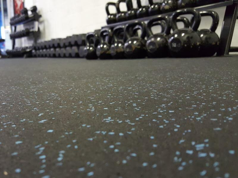 Sportvloer matten - Fraaie rubber sportvloer matten die erg bestendig en slijtvast zijn.