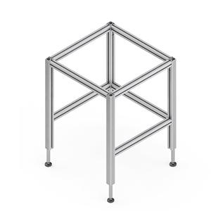 Tischuntergestell TQ - Hydraulisches Untergestell für einfache Arbeits- und Montagetische