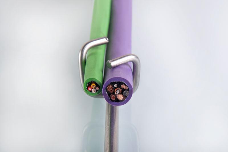 Single-Wire-System führt Einzelleitungen sicher - Single-Wire-System führt Einzelleitungen sicher